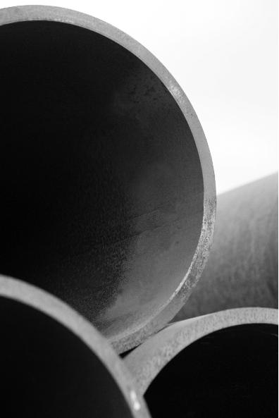 Photo of steel pipe