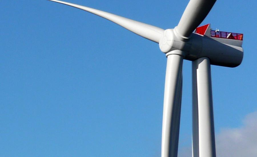 Hunterston Wind Turbine Close Up